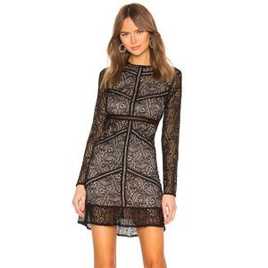 Bardot Sasha Lace Dress Size Small